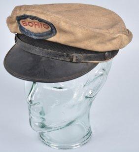Vintage Sohio Gas Station Attendant Hat
