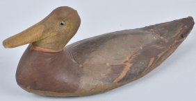 1930s Armstrong Canvas Duck Decoy