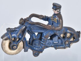 "5"" Champion Cast Iron Motorcycle"