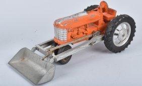 Hubley Diecast Tractor W/ Scoop