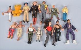 Lot Of Vintage Action Figures