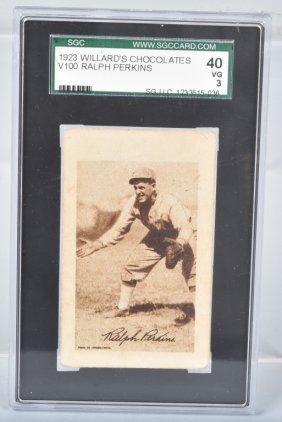 1923 Willard's Chocolates Ralph Perkins Card