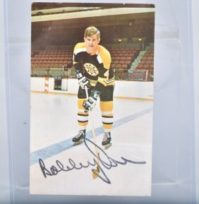 Bobby 0rr Autographed Picture