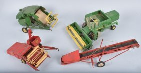Lot Of Farm Thresher Machines