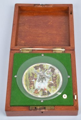 Sandown Horse Racing Roulette Wheel In Box