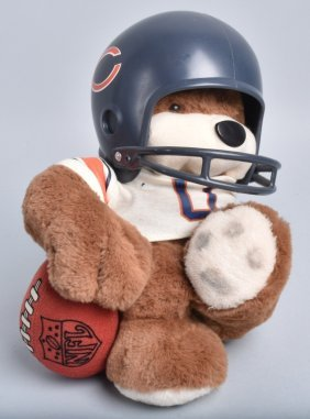 Nfl Huddles Bear 1983 Chicago Bears