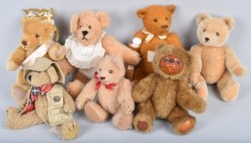 6- Collector Teddy Bears