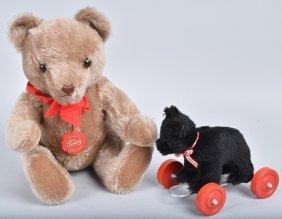 Hermann Teddy & Bear On Wheels