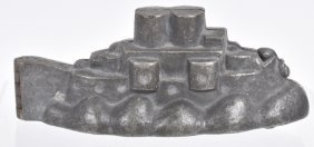 Early Battleship Ice Cream Mold
