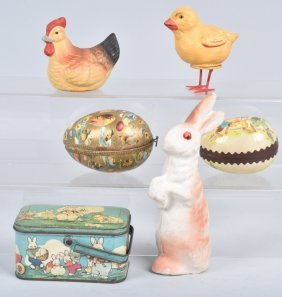 Aninals Candy Containers & Easter Items