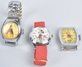 3- Vintage Character Watches