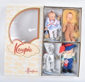 Wizard Of Oz, Kewpie Dolls, Effanbee, Mib