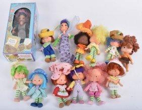 Lot Of Strawberry Shortcake Dolls