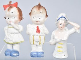 Three German Porcelain Figures