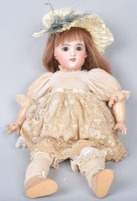 Eden Bebe 9 Bisque Head Doll