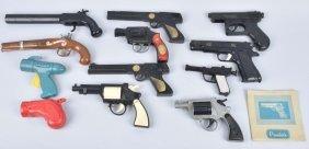 Lot Of Plastic Toy Pistols