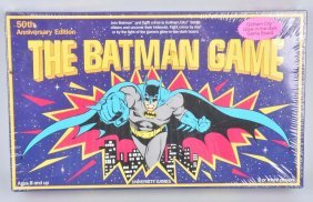 1989 50th Anniversary The Batman Game Mib
