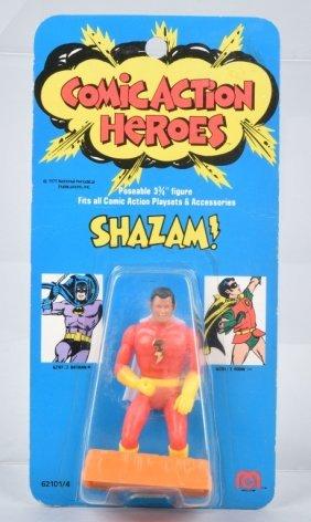 1975 Mego Comic Action Heros Shazam Moc