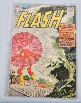 Dc Flash #110 Key 1st Kid Flash & Weather Wizard