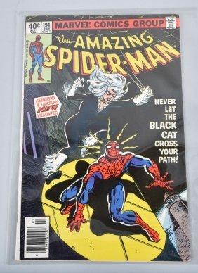 Marvel Amazing Spiderman #194 Key 1st Black Cat