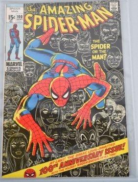 Marvel Amazing Spiderman #100 Fn-vf