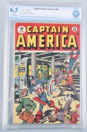 Marvel/timely Captain America #48 Cbcs 6.5