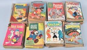 100+ Dell, Golden Key, & Whitman Comic Books