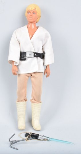 "Vintage Star Wars 12"" Luke Skywalker"