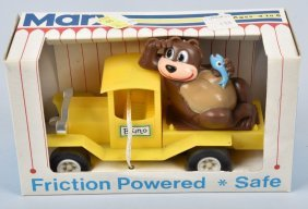 Marx Friction Bruno Bear Car Mib