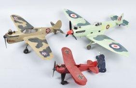 Three Cox Airplanes