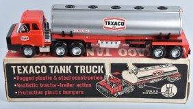 Texaco Tank Truck Near Mint By Park Plastic Nmib