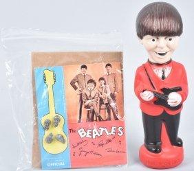 Beatles Soaky And Beatles Charms On Original Card