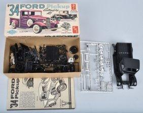 Amt 1934 Ford Pickup 3in1 Customizing Model Kit