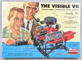 Renwal The Visible V8 Model Kit Sealed