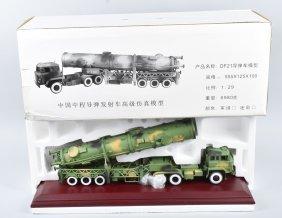 Japan Diecast Missle Launcher Truck 1:29 Scale