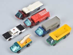 Lot Of 5 Heavyweights And Police Cruiser