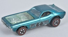 Hot Wheels Redline Aqua Bye Focal