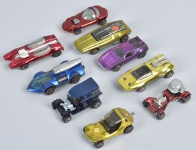 9 Redline Hot Wheels Concepts
