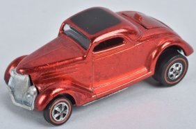 Hot Wheels Redline Classic 36 Ford Coupe In Red