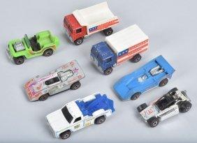 Hot Wheels Redline Lot Of 7 Enamels
