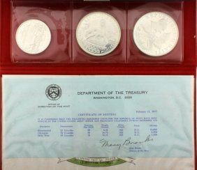 1976 Haiti Silver Proof Set