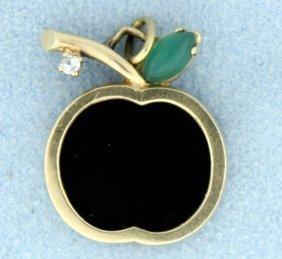 Onyx, Jade And Diamond Apple