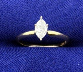 2/5 Carat Diamond Solitaire Ring