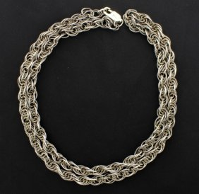24 Inch Heavy Sterling Silver Chain