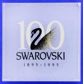 Swarovski Square Acrylic Centenary Plaque