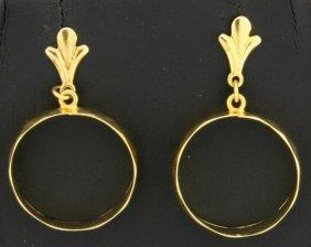 Dangle Earrings With Hoops!