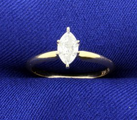 2/5 Carat Diamond Solitaire Ring