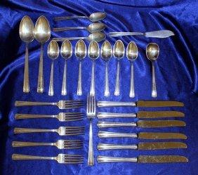 Westmorland Sterling Silver Flatware Set-john &