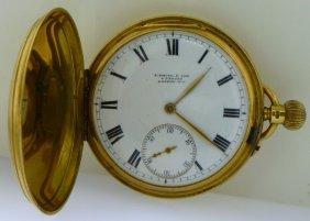Fine 18k S. Smith & Sons Pocket Watch C. 1852 -nairn