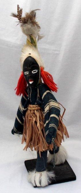 African Ritual Dancing Doll